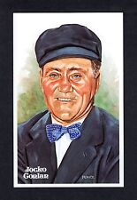 #143 Jocko Conlan, Umpire ~ Perez-Steele Hall Of Fame art postcard (1 of 10,000)