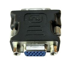 GENUINE VGA To DVI ADAPTER SVGA MONITOR ANALOGUE DVI Converter ONE TIME OFFER