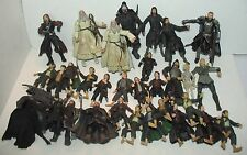 Lot LOTR Lord of the Rings Hobbit Figures Gandalf Stridor Legolas Frodo Gollum+