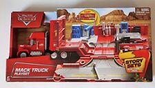 Disney Pixar Cars Story Sets Mack Truck Connectable Play Set NEW Mattel 2014