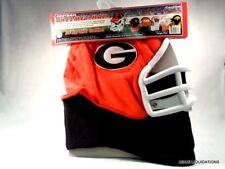 NCAA Georgia Bulldogs Fleece Fan Helmet Hat Large Football Excalibur NCA-GAB-L