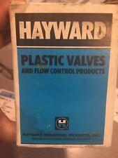 Hayward Plastic Valve 1/4 PVC Ball Valve