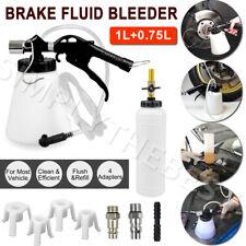 1L Air Brake Bleeder Kit Clutch Vacuum Bleeding Extractor Fluid Adapters Hose