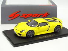 Spark 1/43 - Porsche 918 Spyder Jaune
