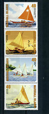 Marshall Islands 2015 MNH Canoes 4v Strip Boats Ships Sailing Racing Canoe Walap