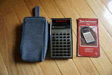 Vintage Texas Instruments Ti-30 Electronic Slide-Rule Calculator