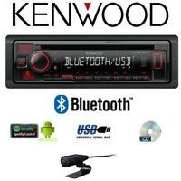 KENWOOD KDC-BT440U AUTORADIO RICEVITORE CD/USB BLUETOOTH INTEGRATO AUTO CAMPER