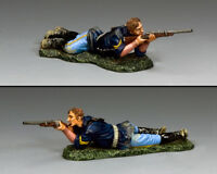 KING & COUNTRY THE REAL WEST TRW152 U.S. TROOPER CORPORAL PRONE FIRING MIB