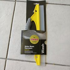 Simoniz Flexible Silicone Water Blade Squeegee Removes Excess Water