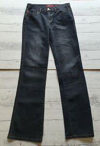 MISS SIXTY Womens Black/Grey Mary J Stretch Jeans Size 28