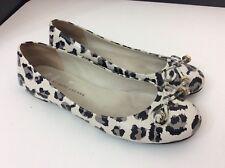 Marc By Marc Jacobs Ballerina Shoes Flats Size 37 Uk 4 Leopard VGC