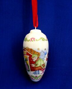 Christmas Pine Cone Ornament – Forester's House Hutschenreuther China Ornament