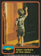 1978 Close Encounters Of The Third Kind Complete Set Cards & Stickers