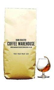 Brandy Flavoured Coffee 100% Arabica Beans Freshly Roasted in UK!