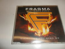 CD  Fragma Feat.  Maria Rubia  ‎– Everytime You Need Me