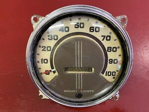 1936 PONTIAC MASTER DELUXE SPEEDOMETER ASSEMBLY
