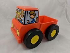 Tupperware Orange Truck Toy Sponge Roller