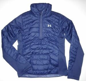 New Under Armour UA ColdGear 1/4 Zip Pullover Jacket sx485