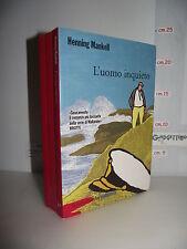 LIBRO Henning Mankell L'UOMO INQUIETO 1^ed.2010 Traduzione Giorgio Puleo☺