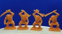 PACK 4 ORCS EXCLUSIVE DAIGUS3D HEROQUEST FAN MADE OFERTA!!! REMASTERIZADO
