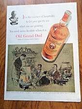 1954 Old Grand-Dad Whiskey Ad  1954 Camel Cigarette Movie Star Dick Powell