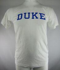 Duke Blue Devils Men's White Basketball T Shirt NCAA S M L