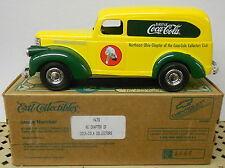 Coca Cola Coke Northeast Ohio Chapter 1946 Chev Suburban 1996 Ertl Bank #H479