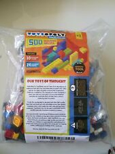 TOYSOPOLY 500 BUILDING BRICKS+REMOVAL TOOL! BRAND NEW SEALED BAG! WORKS w LEGO