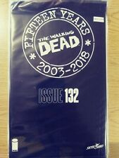WALKING DEAD 132 NM [15 YEAR ANNIVERSARY BLACK POLYBAGG SEALED] PA11-349