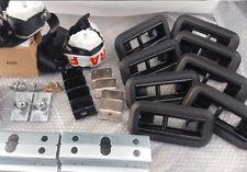 VW Transporter T5 T6 Kombi Rear Seat Full Kit Floor Brackets 2 +1 Quick Release