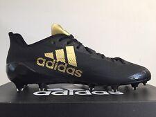 Adidas Adizero 5-Star 6.0 Football Cleats Black Gold BW0338 Men's Size 13 NEW