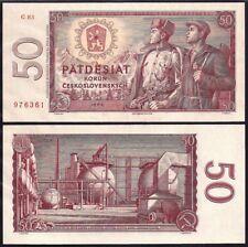 CZECHOSLOVAKIA 50 KORUN 1964 P90b UNCIRCULATED
