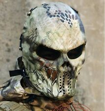 Camouflage Ghost Tactical Outdoor Military Balaclava Protection Full Face Mask