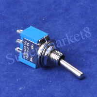 3pcs 6Way 6P3T Slide ON//ON//ON Switch 3A250V 8pin Terminal Solder Car//Boat//Amp