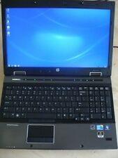 "HP EliteBook 8540w 15"" Quad Core i7 1.7GHz 4GB 256GB SSD 1080p NVd Gaming Laptop"