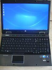 "HP EliteBook 8540w 15.6"" Core i7 2.8GHz 4GB 256GB SSD Win 7 1080p Gaming Laptop"