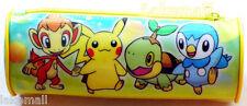 New Japan Pikachu Pokemon PVC Cosmetic Pencil Bag
