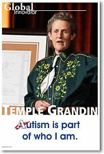 Temple Grandin - NEW Famous Person Motivational Autism POSTER
