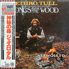 Jethro Tull - Songs from the Wood - LP Promo Japan press with OBI
