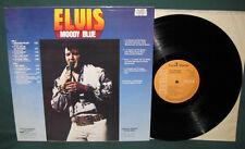 Elvis Presley Moody Blue LP France PL-12428 NM 1977