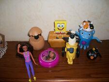 Personaggi Happy Meal Mc Donalds pecora shaun home barbie patty spongebob angry