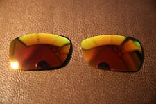 PolarLenz Polarized Fire Red Iridium Replacement Lens for-Oakley Spike