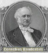 AZIONE DEL  COMMODORO CORNELIUS VANDERBILT# IL BARONE DELLE FERROVIE USA