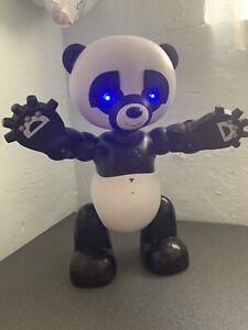"WowWee Robo Panda Battery-Operated Talking Interactive Toy 2007 Rare 19"" Tall"