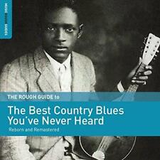 The Rough Guide To The Best Country Blues You've Never Heard - Various (NEW CD)