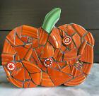 FIESTAWARE * PUMPKIN * Fall / Halloween Decor HANDMADE USA W/ Vintage SAUCERS