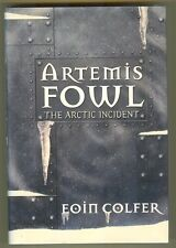 """EOIN COLFER """"ARTEMIS FOWL THE ARCTIC INCIDENT""""  1ST/1ST  F/F SIGNED"""