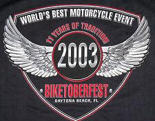 Harley-Davidson T-Shirt 2003 Biketoberfest Daytona Beach FL XXXL 3XL