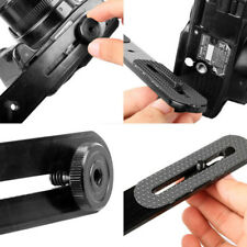 New Flash Bracket Holder Kit For 1/4'' Screw Studio Tripod Light Stand Camera