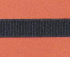 Klettband schwarz 20mm zum Aufnähen Gardinenzubehör Gardinenband Hakenband